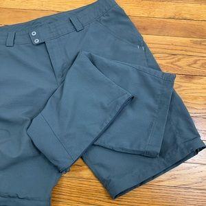 Columbia Convertible omni-shade grey hiking pants